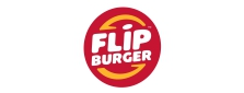 Project Reference Logo Flip Burger